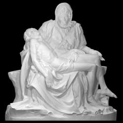 LS 318 Pietà Vaticana di Michelangelo h. cm. 170