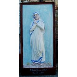 LR 171 Madre Teresa di Calcutta h. cm. 200×100