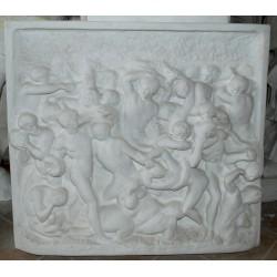LR 158 Centauromachia di Michelangelo h. cm. 80x89