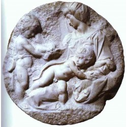 LR 155 Tondo Taddei di Michelangelo diam. cm. 110
