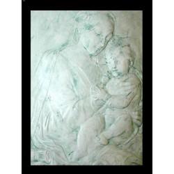 LR 142 Madonna con Bimbo h. cm. 74x58