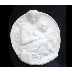 LR 126 Tondo Pitti - Michelangelo h. cm. 91x85