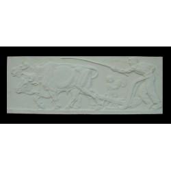 LR 123 Il lavoro - Bistolfi h. cm. 37x100