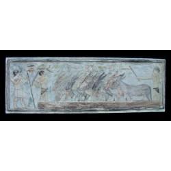 LR 122 Asini - Egizio h. cm. 39,5x116,5