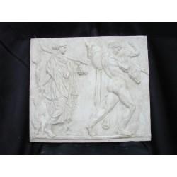 LR 121 Fatiche di Ercole h. cm. 46x52