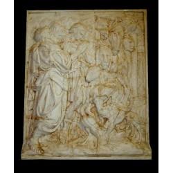 LR 100 Uscita dall'Arca - Jacopo Della Quercia h. cm. 85x71