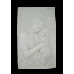 LR 27 Madonna rettangolare di Donatello h. cm. 63x39