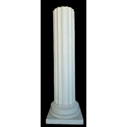 LV 3 Colonna scanalata dorica h. cm. 110, diametro cm. 25