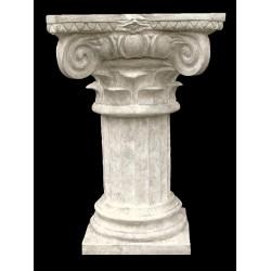 LV 6 Colonna con capitello composito h. cm. 80, largh. cm. 50x50