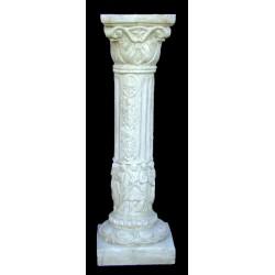 LV 29 Colonnina corinzia con figure h. cm. 75