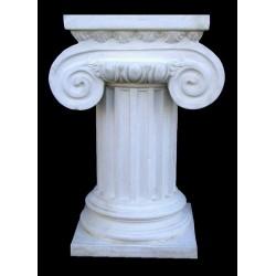 LV 37 Colonna corinzia con capitello ionico (per tavolo) h. cm. 80, largh. cm. 37