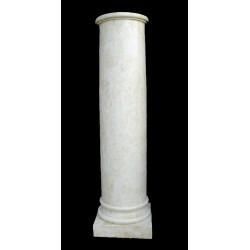 LV 52 Colonna liscia rastremata h. cm. 102, diam. cm. 23, largh. cm. 30