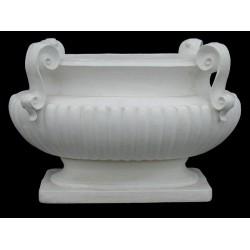 LV 74 Vaso ovale per tavolino h. cm. 50, largh. cm. 75