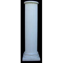 LV 76 Colonna scanalata corinzia h. cm. 117, largh. cm. 36, diam. cm. 26