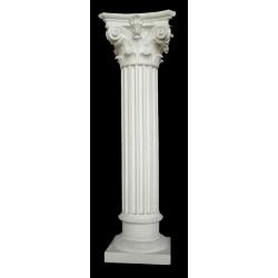LV 95 Colonnina corinzia stilizzata h. cm. 80, largh. cm. 25