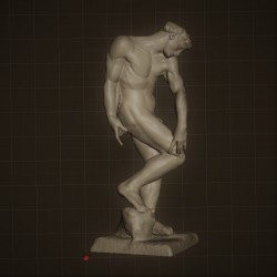RID. 05 Adamo h. cm. 50 – Musèe Rodin