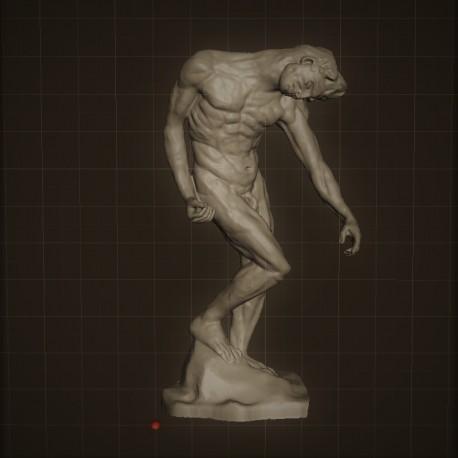 RID. 07 The Shade h. cm. 50 – Musèe Rodin.