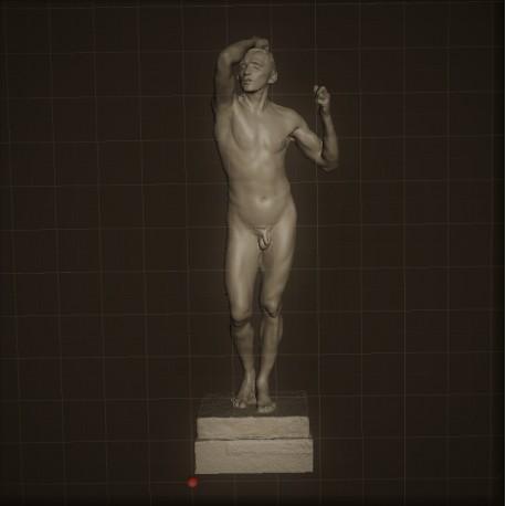 RID. 09 Age h. cm. 100 – Musèe Rodin.