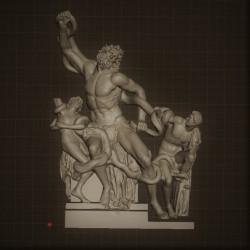 RID. 12 Gruppo del Laoconte h. cm. 44 – Musei Vaticani.