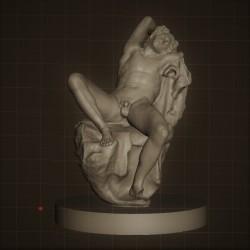Rid. 13 Fauno Barberini h. cm. 50 – Gliptoteca Monaco di Baviera.
