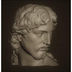 LB 327 Testa Cristo Risorto di Michelangelo h. cm. 35