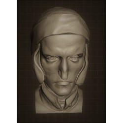 LB 318 Testa Dante Alighieri h. cm. 100