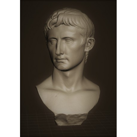 LB 334 Busto di Augusto h. cm. 55