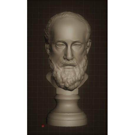 LB 336 Testa di Hippocrate giovane h. cm. 50